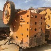 二手整套750颚式破碎机砂石料生产线设备低价处理