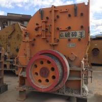 二手日产1200吨砂石料生产线设备二合一破碎机低价处理