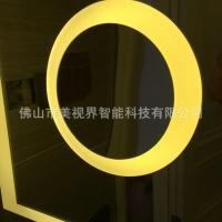 制智能蓝牙浴室镜音乐智能灯镜浴室防雾镜可调光防雾镜