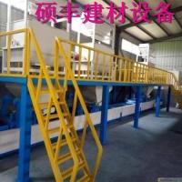 玻镁板设备厂家与玻镁防火板生产线技术思路一致