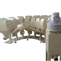 西门子PLC控制系统小料配料机上门安装调试