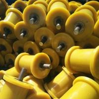 厂家可定做各种型号尼龙地轮 聚氨酯地滚轮