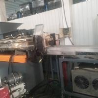 PET涤纶料回收造粒机_破碎料回收生产线厂家