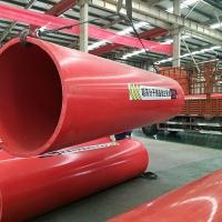 洛阳DN800钢制逃生管道隧道施工应用