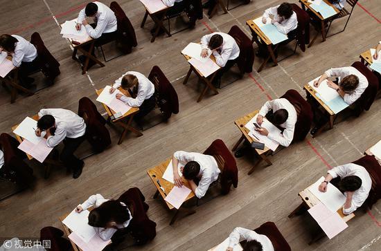 考试示意图(视觉中国)