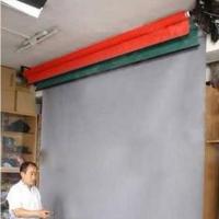 耀诺演播室专用电动抠像幕布