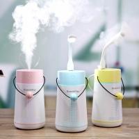 供给美容行业小型加湿器[供电版】附小风扇与LED灯