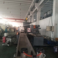 化纤回收料造粒机_回收料挤出机