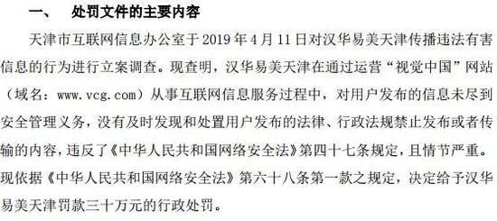 截至今日收盘,视觉中国跌4.41%,报21.46元。