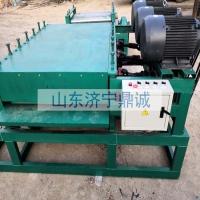 河南郑州油桶洗板机 8辊6刷洗板机 切盖切身一体机