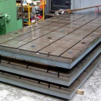 大型铸件厂家供应落地镗床工作台
