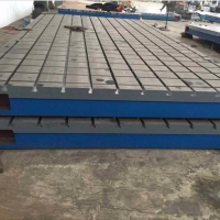 大型铸件厂家供应铸铁T型槽平台