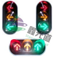 十字路口红绿灯 红黄绿箭头三单元交通信号灯厂商直销