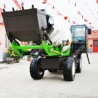 混凝土运输车 运输搅拌车 自动上料搅拌车