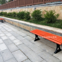 HCY060简易平凳座椅 小区条椅 公园椅