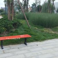 户外无靠背休闲椅 球场看台休息椅 条形座椅