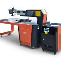 超速悍光纤激光焊字机 300W全自动发光字广告激光焊接机