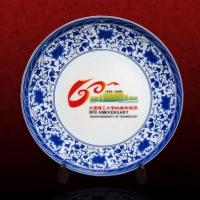 建军节陶瓷挂盘40公分定做 陶瓷赏盘厂家报价