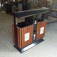 嘉阳小火车游乐园垃圾箱 分类垃圾桶 环畅定制垃圾桶厂