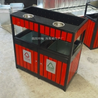 公园垃圾桶 都江堰园林垃圾箱 街道垃圾桶
