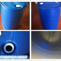塑料桶 200升蓝色双环食品级包装结实耐用
