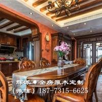 长沙原木中式家具厂家报价、原木衣柜、隐形门订制发展趋势