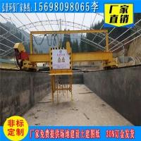 葫芦岛浅谈行车式翻抛机的结构配置与安装方式