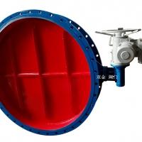 ZD941H-1.5电动直板尘气蝶阀型号