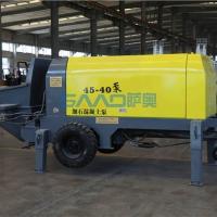 大型混凝土输送泵   二次结构混凝土小型输送泵
