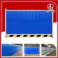 粤盾交通彩钢板彩扣板围挡施工围挡安全围栏施工隔离栏