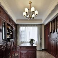 长沙整房原木定制北美材料、原木书柜、背景墙订制原材料好