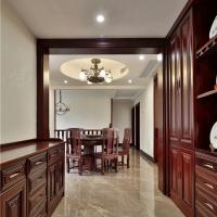 长沙实木整房家具真材实料、实木大门、餐边柜定做规模很大