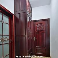长沙实木全屋家具进口材料、实木书柜、护墙板定制诚信厂家