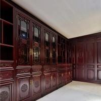长沙中式实木家具高端品牌、实木鞋柜、储藏柜定制欢迎考察
