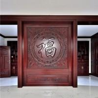 长沙美式实木家具工厂工艺、实木书柜、背景墙订做选择辉派