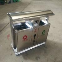 成都不锈钢垃圾桶 HC1006户外垃圾箱 工厂直供