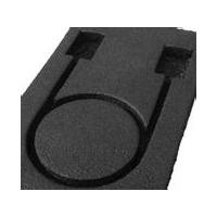 德莎51980黑色PET双面胶