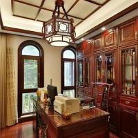 长沙整房原木定制实拍晒单、原木衣柜、隐形门订制榫卯结构
