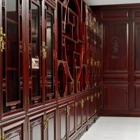 长沙原木中式家具辉派直营、原木鞋柜、储藏柜订制分店开业