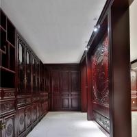 长沙原木整体家具厂家直营、原木鞋柜、橱柜门定制工厂设备