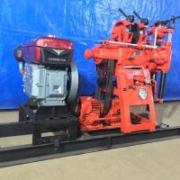 特价销售柴油版电启动钻机 农用电启动水井钻机 操作方便
