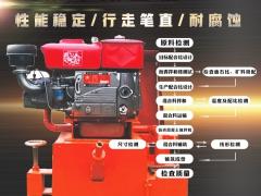 大功率高效率!沥青砂拦水带成型机 拦水带摊铺机-- 广州市腾丰机械设备有限公司