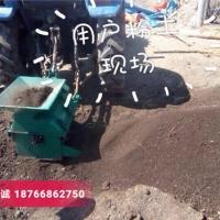 漳州轴传动粉土机 小型花园苗圃碎土机 育秧粉土机 打土粉碎机
