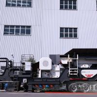 河南时产100吨移动破碎站助力建筑垃圾利用更高JYX78