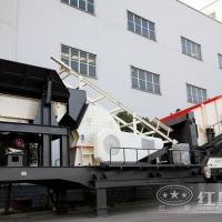 时产150-280吨移动式破石机处理建筑垃圾有高招JYX78
