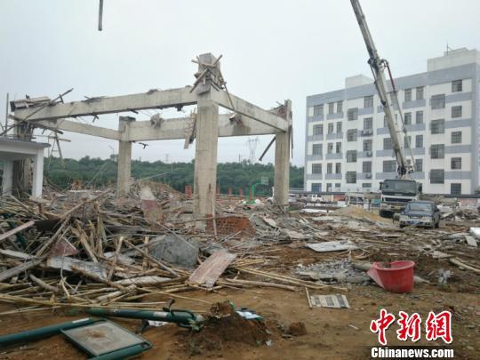 广西南宁一在建舞台垮塌致3死4伤事故原因公布