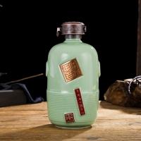 山西杏花村5斤装酒瓶定做 陶瓷酒具1斤厂家报价