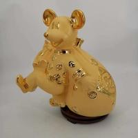 连云港陶瓷酒具5斤老鼠定做 陶瓷酒瓶1斤厂家报价