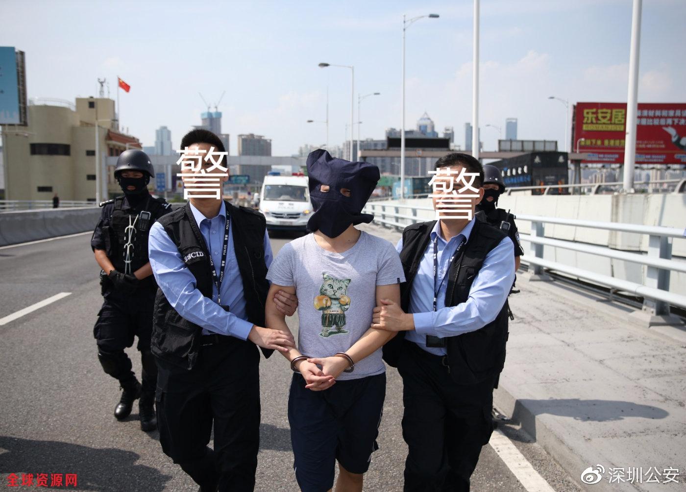 深圳警方移交一名香港籍嫌犯 涉一起凶杀案