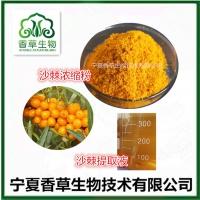 沙棘提取物10:1 沙棘浓缩浸膏 酸棘酵素原浆 沙棘果多糖